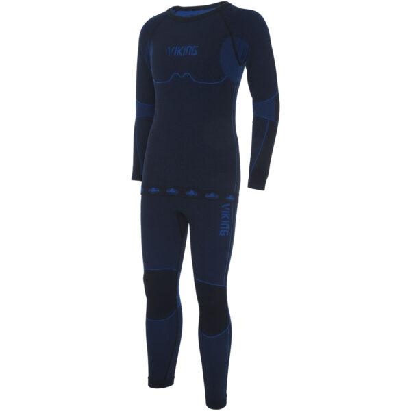 KOMPLET BIELIZNY DZIECIĘCEJ VIKING RIKO navy blue