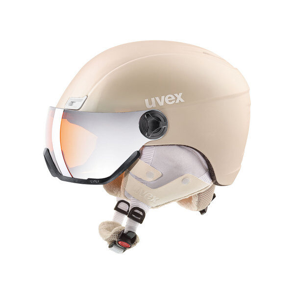 kask narciarski uvex hlmt 400 visor style 2019 proseco met mat