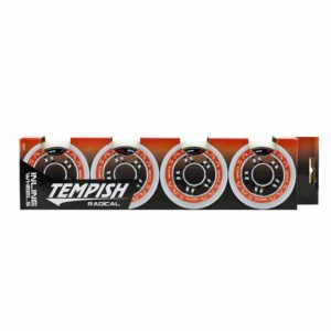 kółka do rolek tempish radical wheel set 84A 80mm white