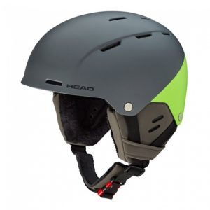 kask narciarski head trex 2019 green-grey