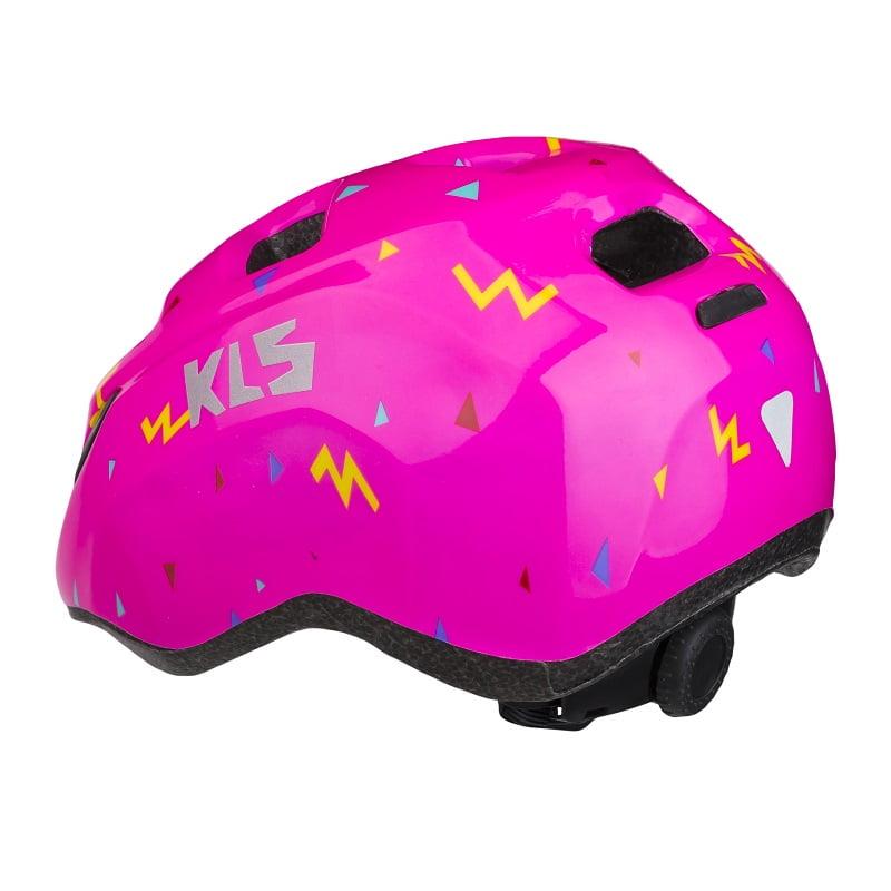 kask rowerowy kellys zigzag pink bck