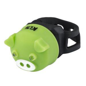 lampka tylna kellys piggy green