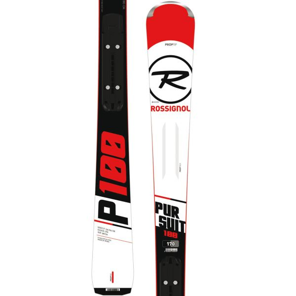 NARTY ROSSIGNOL PURSUIT 100 RTL/XP 10 B83 BK/W
