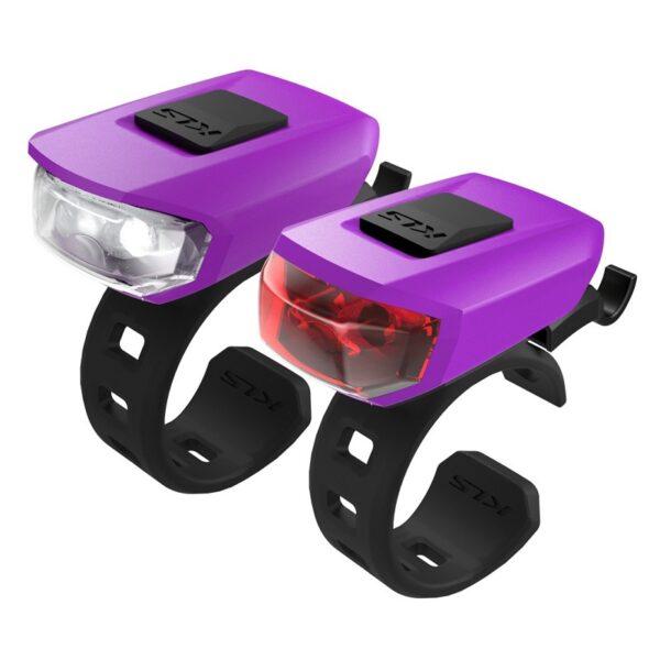 zestaw oświetlenia kellys Vega usb purple