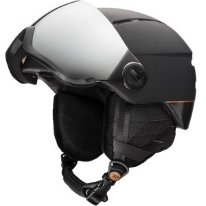 kask narciarski visor women black open