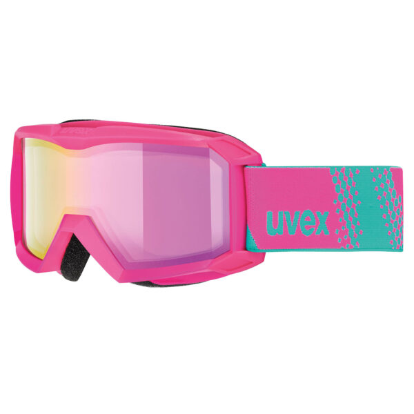 gogle narciarskie dziecięce uvex flizz 2020 pink