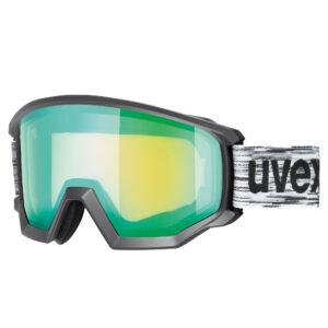 gogle narciarskie uvex athletic fm 2020 black green