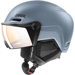 kask narciarski uvex hlmt 700 visor 2020 strato mat