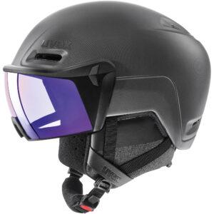 kask narciarski uvex hlmt 700 visor vario 2020 black