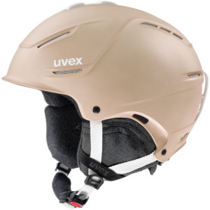 kask narciarski uvex p1us 20 2020 light brown