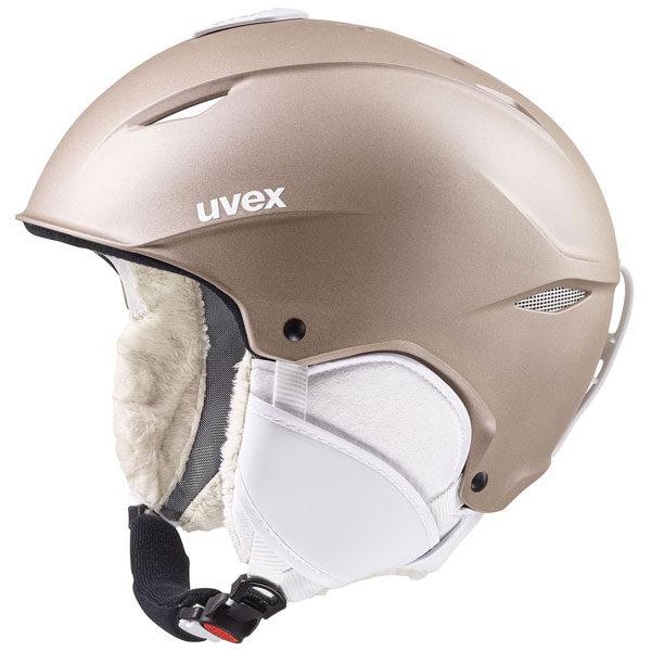 kask narciarski uvex primo 2020 light brown