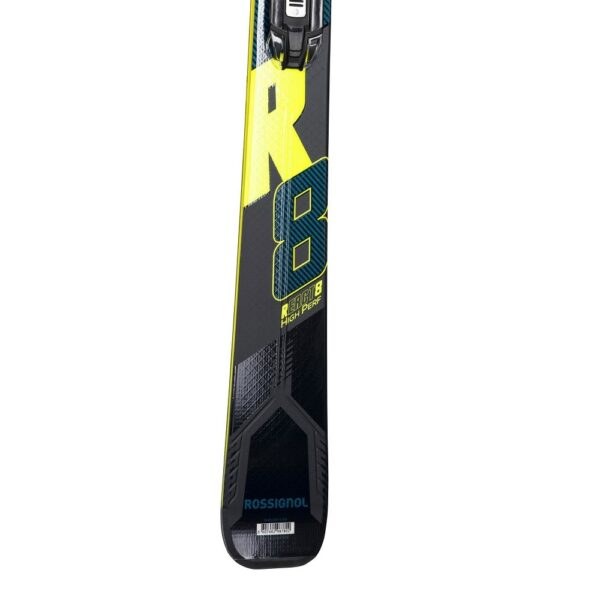 narty rossignol react r8 hp tail