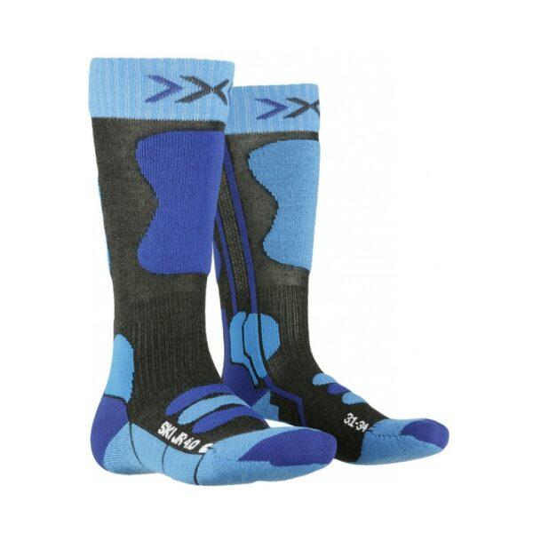 skarpety dziecięce x-socks ski jr 4.0 2020 blue