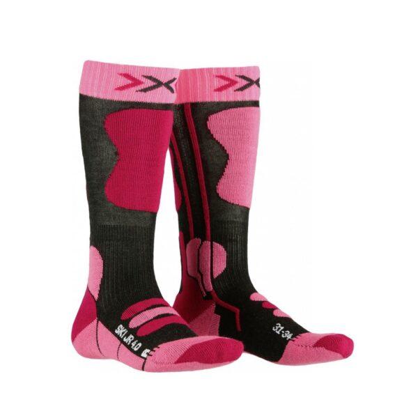 skarpety dziecięce x-socks ski jr 4.0 2020 pink