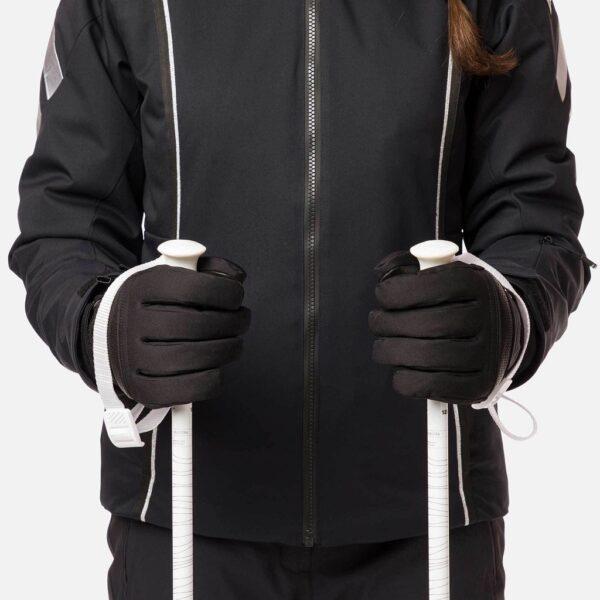 rękawice narciarskie rossignol w intense gtx 2020 black show