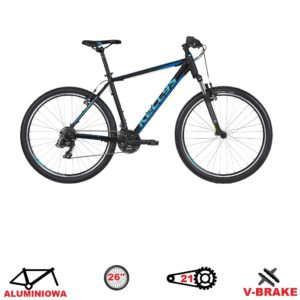 rower kellys madman 10 black blue 2020 26
