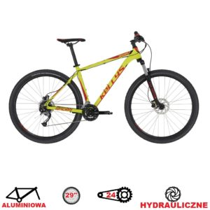 rower kellys spider 30 neon lime 2020 koła 29