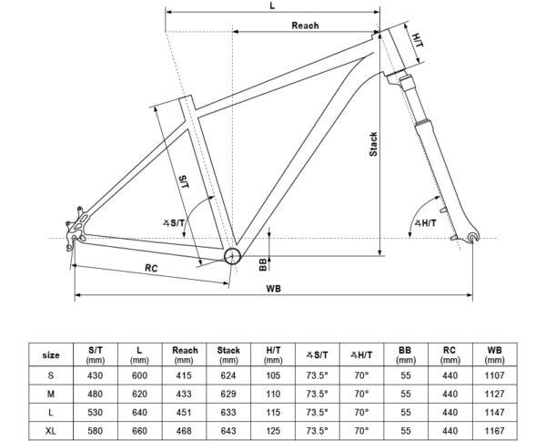 rower kellys spider 90 2020 koła 29 geo