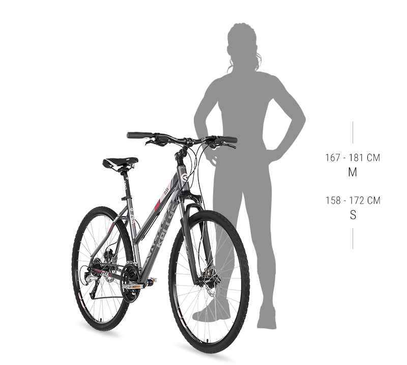rower kellys clea 10 grey pink 2020 kola 28 wys