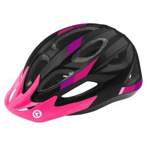 kask rowerowy kellys jester black violet 2020