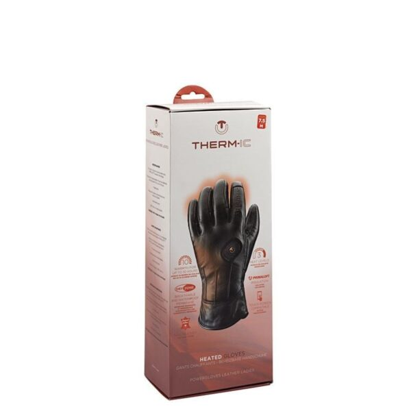 rękawice narciarskie thermic powergloves leather ladies box