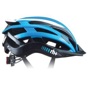 kask rowerowy RH+ 2 in 1 azure
