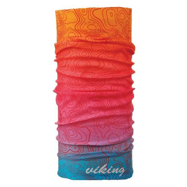 wielokolorowa ciepła bandana viking z włóknem Coolmax